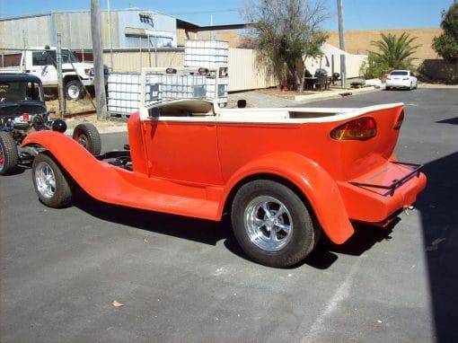 Orange 28 Ford Tourer