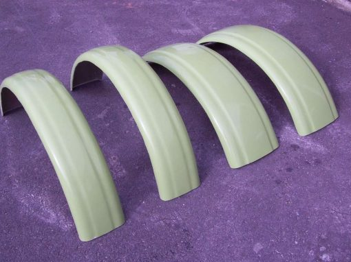 Fibreglass Cycle Guards