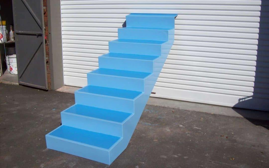 Fibreglass Pool Steps