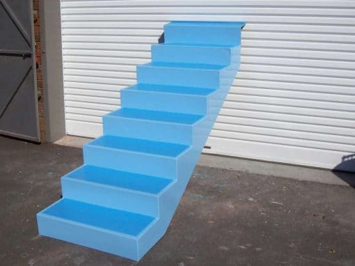 Fibreglass Pool Steps