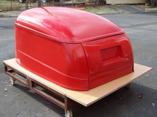 Fibreglass Trailer Body